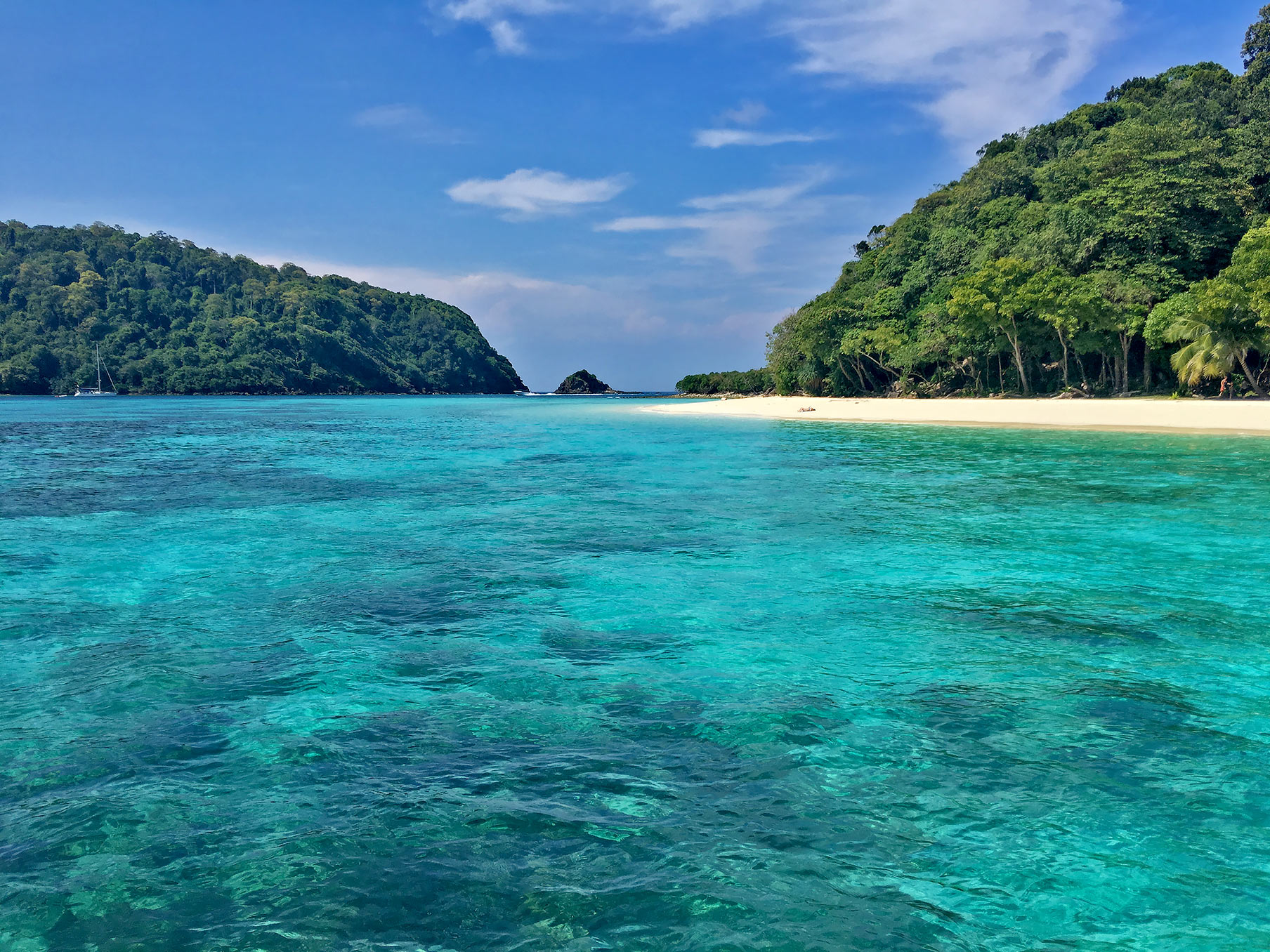 Thailand's southern islands are great to visit via superyacht.