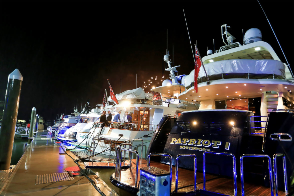Australian Superyacht Rendezvous via Seal Superyachts.