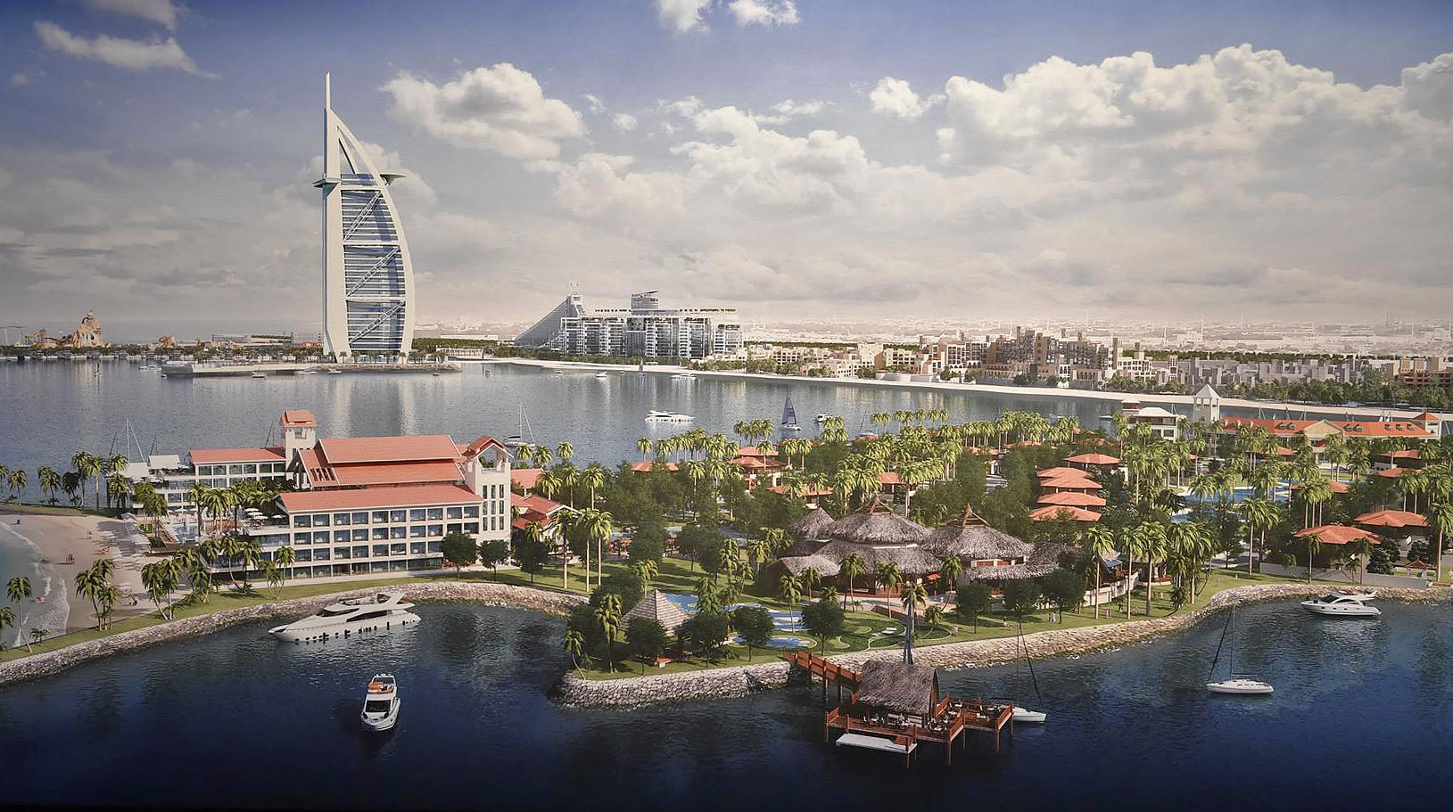 Dubai to attract Superyachts.
