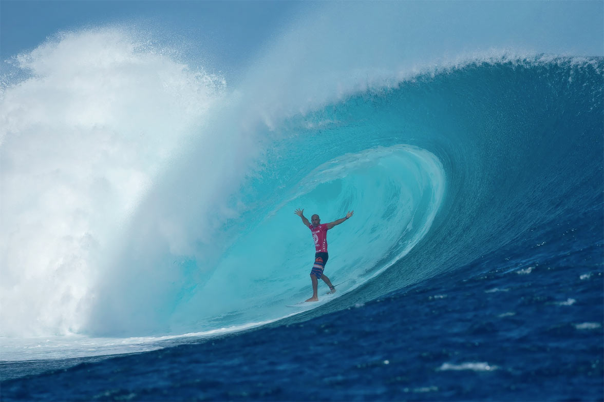 Surfing, Fiji via Seal Superyachts.