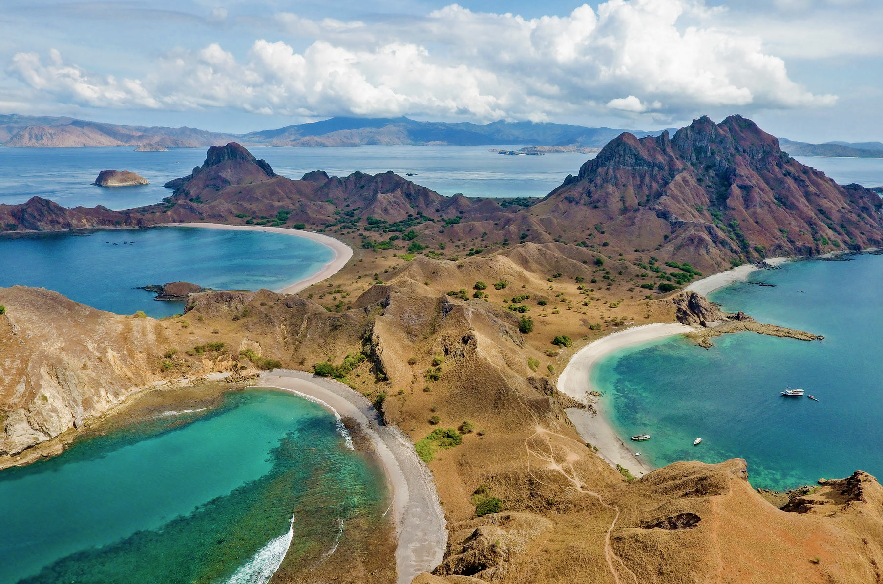 Komodo, Indonesia via Seal Superyachts.
