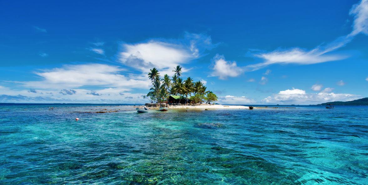 Chuuk Lagoon Island