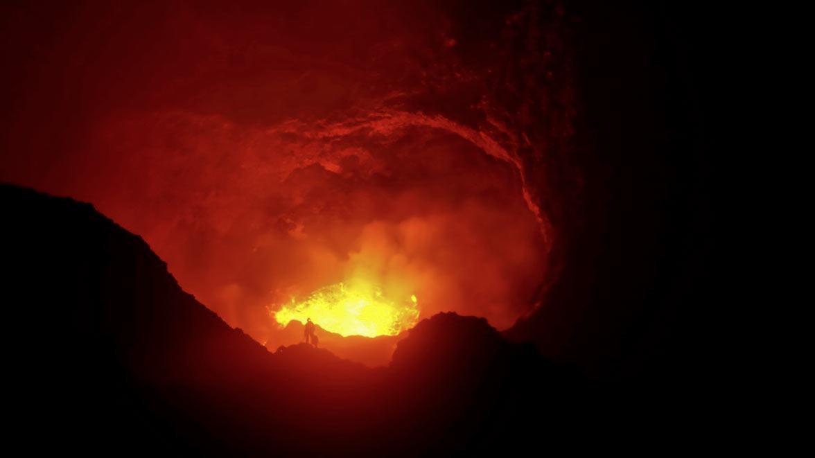 Vanuatu volcano