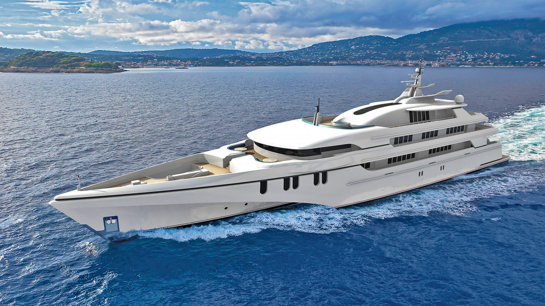 White Rabbit Golf to be Biggests Aussie Built Luxury Yacht.