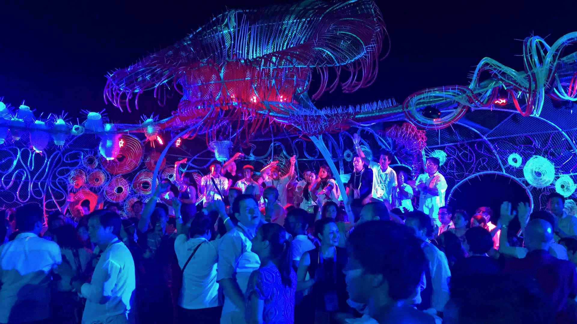 Boracay party in the Philippines, by Seal Superyachts.
