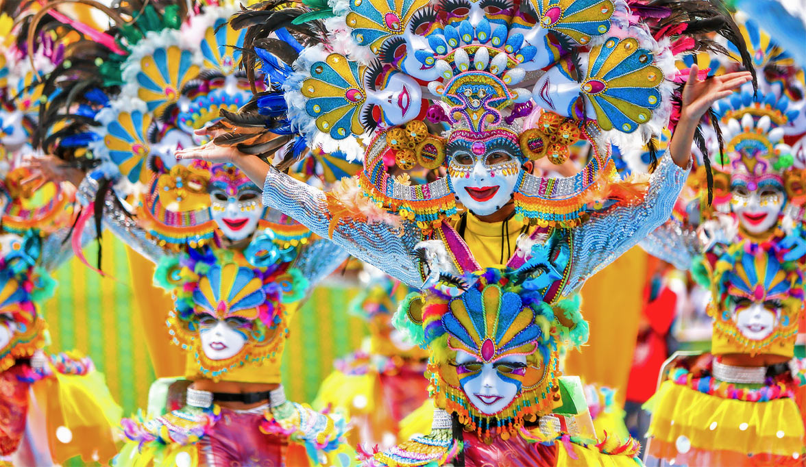 Maskara Festival in the Philippines, by Seal Superyachts.
