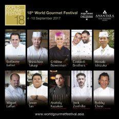 World Gourmet Festival 2017.