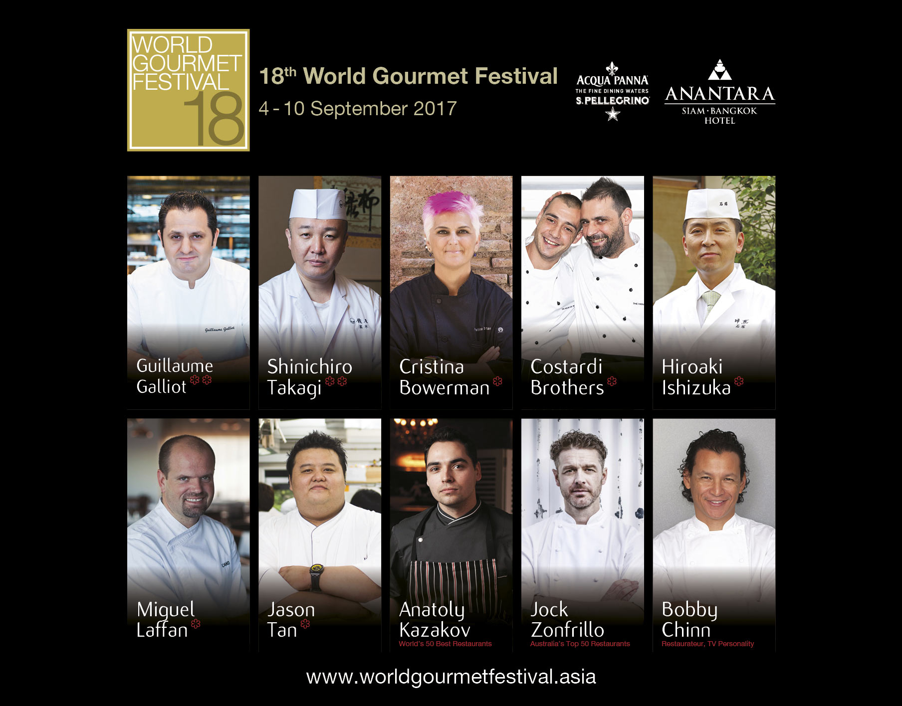 World Gourmet Festival 2017.