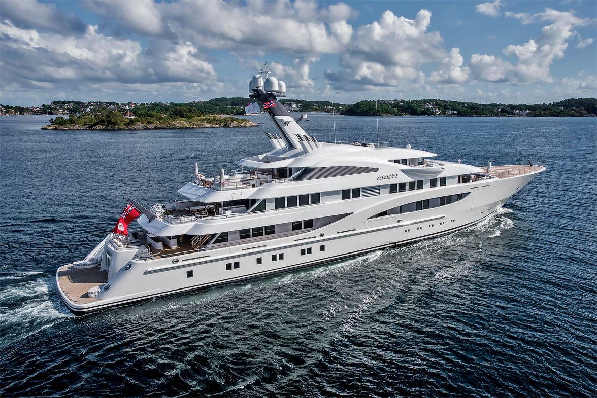 Areti at Monaco Yacht Show