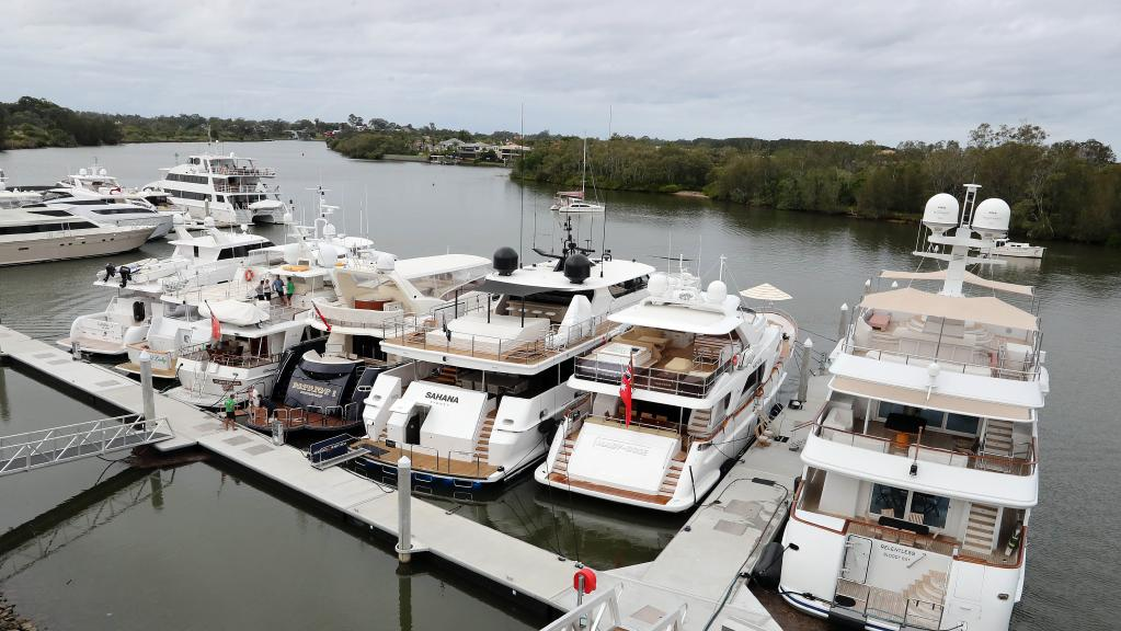 The Coomera River, on the Gold Coast, will be dredged to suit the needs of Superyachts.