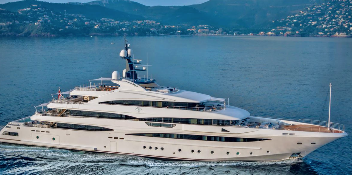 Cloud9 at Monaco Yacht Show
