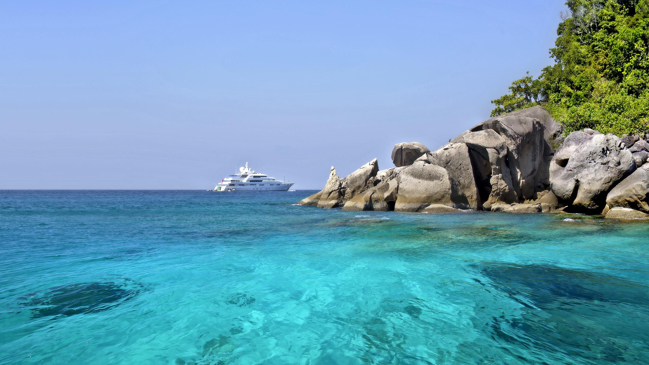 Cruising Thailand by Superyacht.