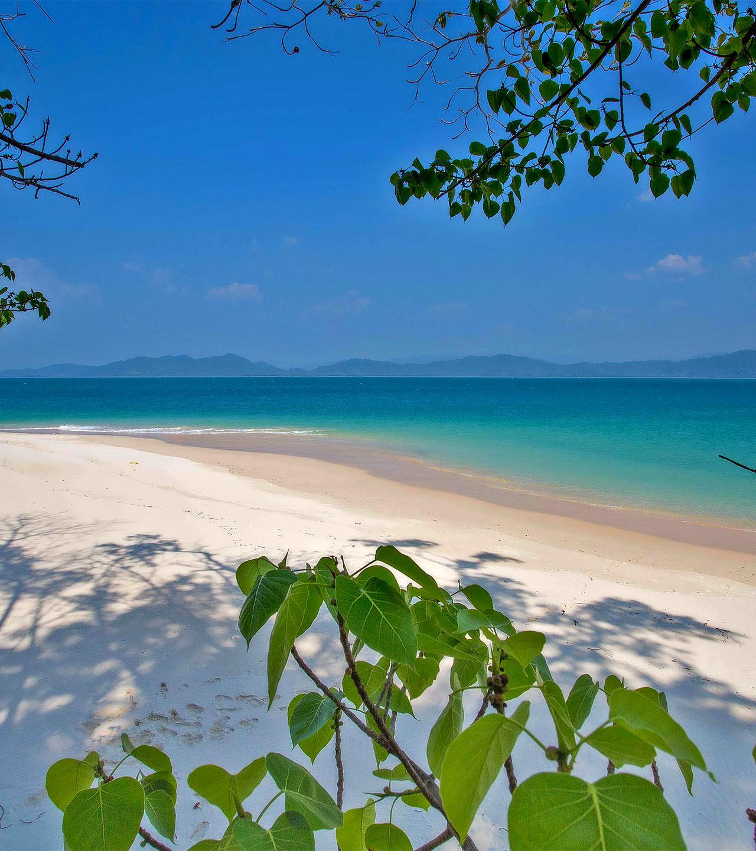 Beach in Phuket, Thailand.