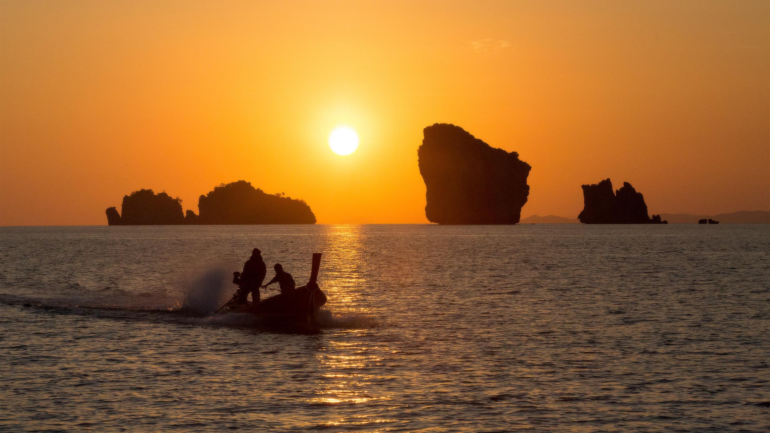 Thailand Sunset.